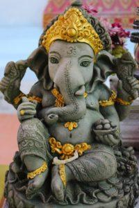 statue, lord ganesha, religious